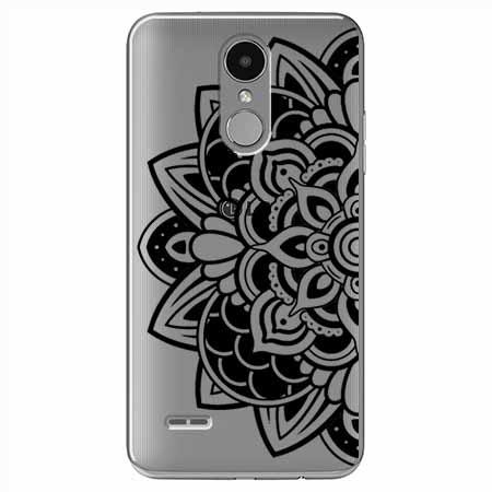 Etui na LG K8 2017 - Kwiatowa mandala.