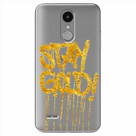 Etui na LG K8 2017 - Stay Gold.