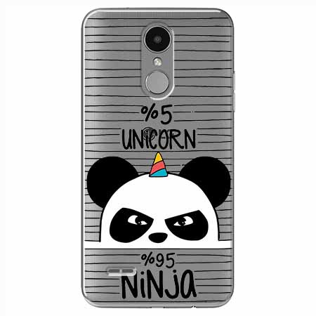 Etui na LG K8 2017 - Ninja Unicorn - Jednorożec.