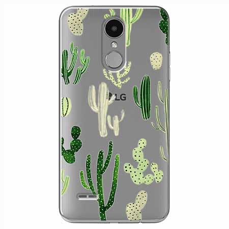 Etui na LG K4 2017 - Kaktusowy ogród.