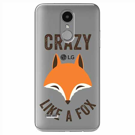Etui na LG K4 2017 - Crazy like a fox.