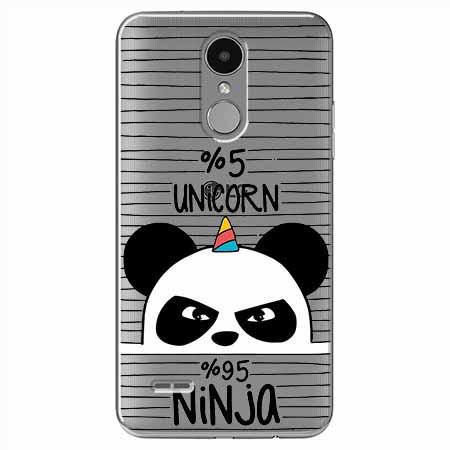 Etui na LG K4 2017 - Ninja Unicorn - Jednorożec.