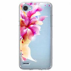 Etui na LG Q6 - Bajeczny kwiat.