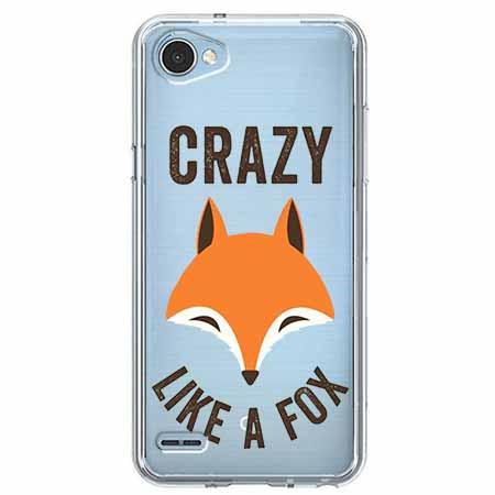 Etui na LG Q6 - Crazy like a fox.