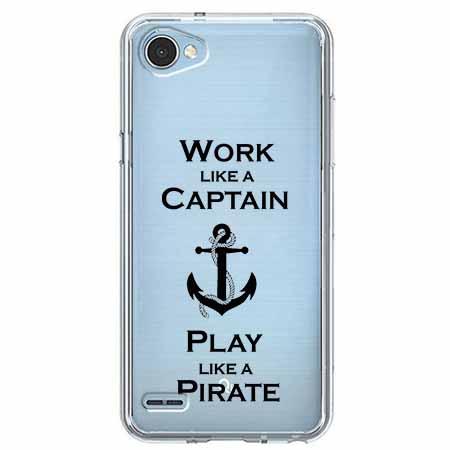 Etui na LG Q6 - Work like a Captain…