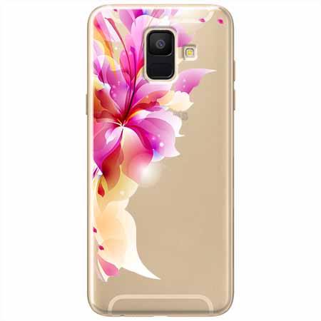 Etui na Samsung Galaxy A6 2018 - Bajeczny kwiat.