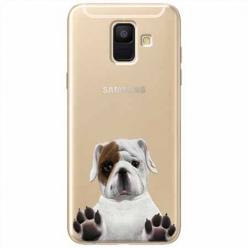Etui na Samsung Galaxy A6 2018 - Słodki szczeniaczek.