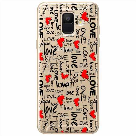 Etui na Samsung Galaxy A6 2018 - Love, love, love…