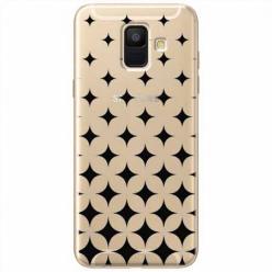 Etui na Samsung Galaxy A6 2018 - Diamentowy gradient.