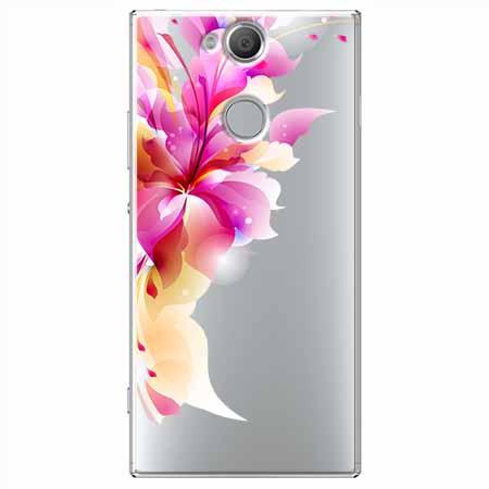 Etui na Sony Xperia XA2 - Bajeczny kwiat.
