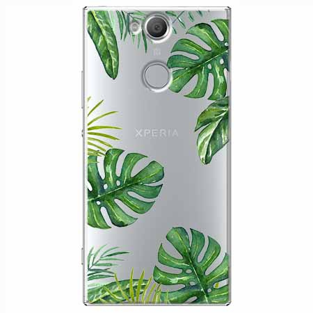 Etui na Sony Xperia XA2 - Egzotyczna roślina Monstera