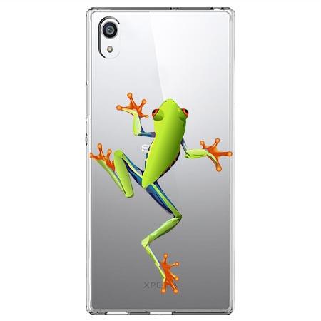 Etui na Sony Xperia L1 - Zielona żabka.