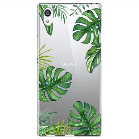 Etui na Sony Xperia L1 - Egzotyczna roślina Monstera