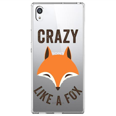Etui na Sony Xperia L1 - Crazy like a fox.