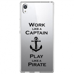 Etui na Sony Xperia L1 - Work like a Captain…