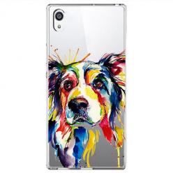 Etui na Sony Xperia XA1 Ultra - Watercolor pies.