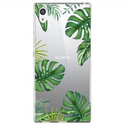 Etui na Sony Xperia XA1 Ultra - Egzotyczna roślina Monstera