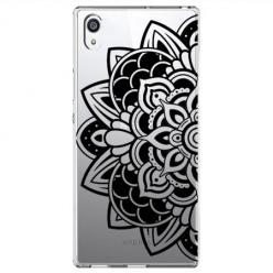 Etui na Sony Xperia XA1 Ultra - Kwiatowa mandala.