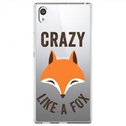 Etui na Sony Xperia XA1 Ultra - Crazy like a fox.