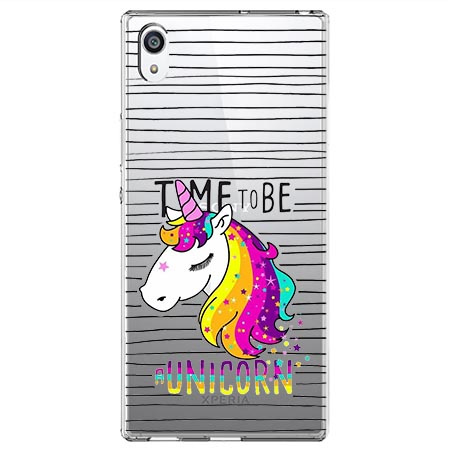 Etui na Sony Xperia XA1 Ultra - Time to be unicorn - Jednorożec.