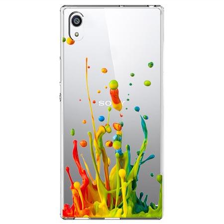 Etui na Sony Xperia XA1 Ultra - Kolorowy splash.