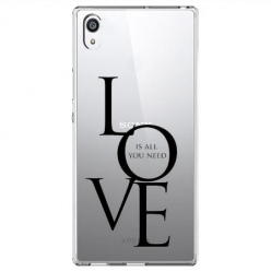 Etui na Sony Xperia XA1 Ultra - All you need is LOVE.