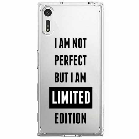 Etui na Sony Xperia XZ - I Am not perfect…