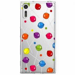 Etui na Sony Xperia XZ - Kolorowe lizaki.