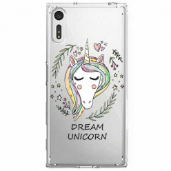 Etui na Sony Xperia XZ - Dream unicorn - Jednorożec.