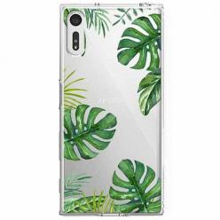 Etui na Sony Xperia XZ - Egzotyczna roślina Monstera