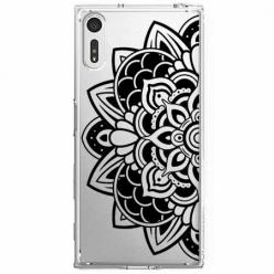 Etui na Sony Xperia XZ - Kwiatowa mandala.
