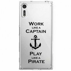 Etui na Sony Xperia XZ - Work like a Captain…