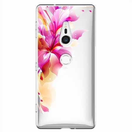 Etui na Sony Xperia XZ2 - Bajeczny kwiat.
