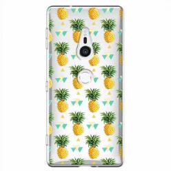 Etui na Sony Xperia XZ2 - Ananasowe szaleństwo.