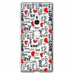Etui na Sony Xperia XZ2 - Love, love, love…