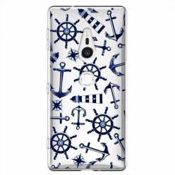 Etui na Sony Xperia XZ2 - Ahoj wilki morskie.