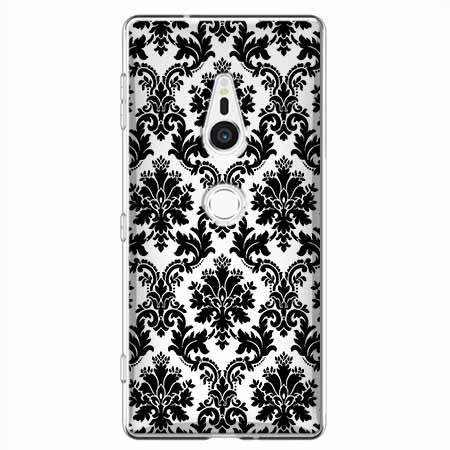 Etui na Sony Xperia XZ2 - Damaszkowa elegancja.