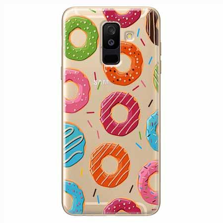 Etui na Samsung Galaxy A6 Plus 2018 - Lukrowane pączki.