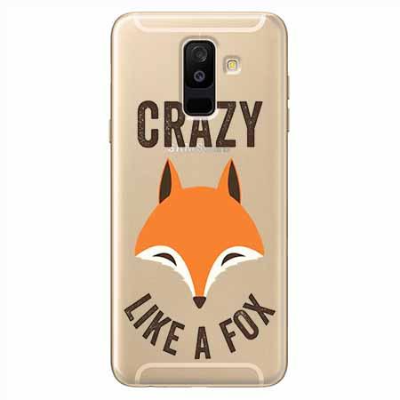 Etui na Samsung Galaxy A6 Plus 2018 - Crazy like a fox.