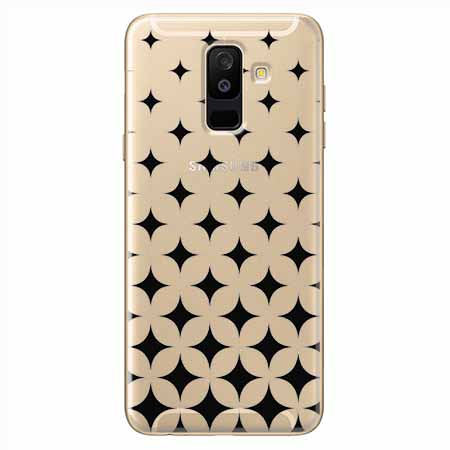 Etui na Samsung Galaxy A6 Plus 2018 - Diamentowy gradient.