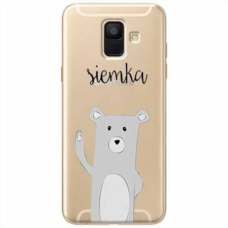 Etui na Samsung Galaxy A8 2018 - Misio Siemka.