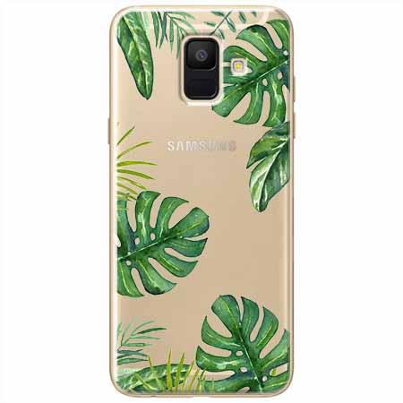 Etui na Samsung Galaxy A8 2018 - Welcome to the jungle.