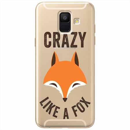 Etui na Samsung Galaxy A8 2018 - Crazy like a fox.