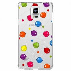 Etui na Samsung Galaxy Note 4 - Kolorowe lizaki.