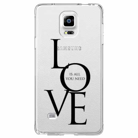 Etui na Samsung Galaxy Note 4 - All you need is LOVE.