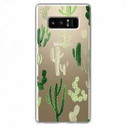 Etui na Samsung Galaxy Note 8 - Kaktusowy ogród.