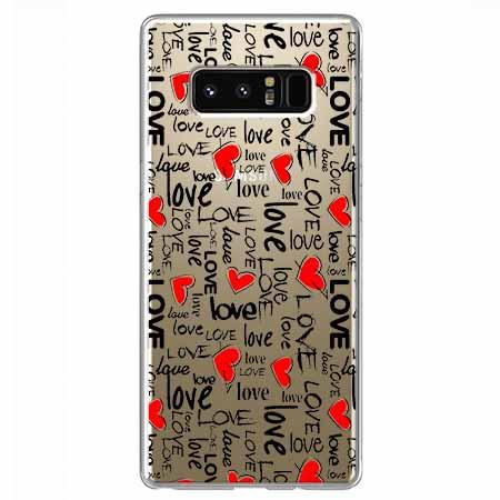 Etui na Samsung Galaxy Note 8 - Love, love, love…