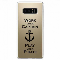 Etui na Samsung Galaxy Note 8 - Work like a Captain…