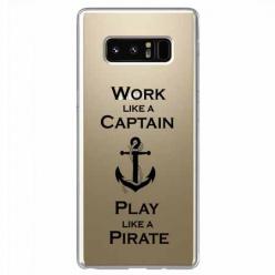 Etui na Samsung Galaxy Note 8 - Work like a Captain…
