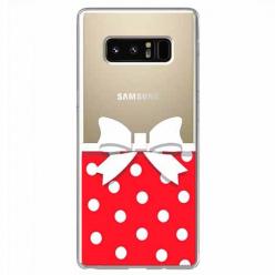 Etui na Samsung Galaxy Note 8 - Gustowna kokardka.
